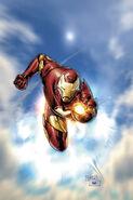 Invincible Iron Man Vol 2 1 Tan Variant Textless