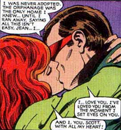 Jean Grey and Scott Summers (Earth-616) from X-Men Vol 1 138 0001