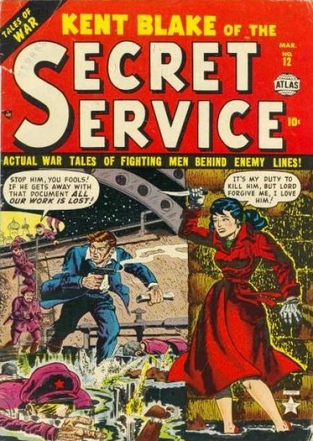 Kent Blake of the Secret Service Vol 1 12