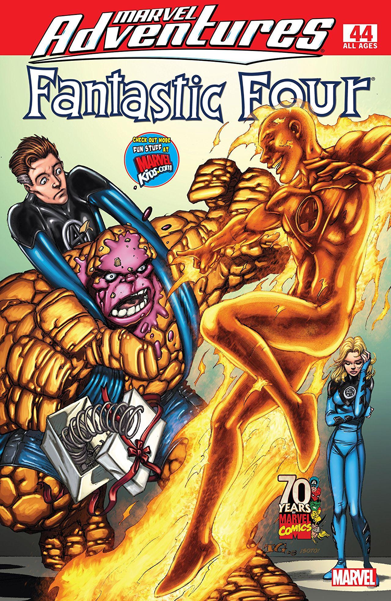 Marvel Adventures: Fantastic Four Vol 1 44