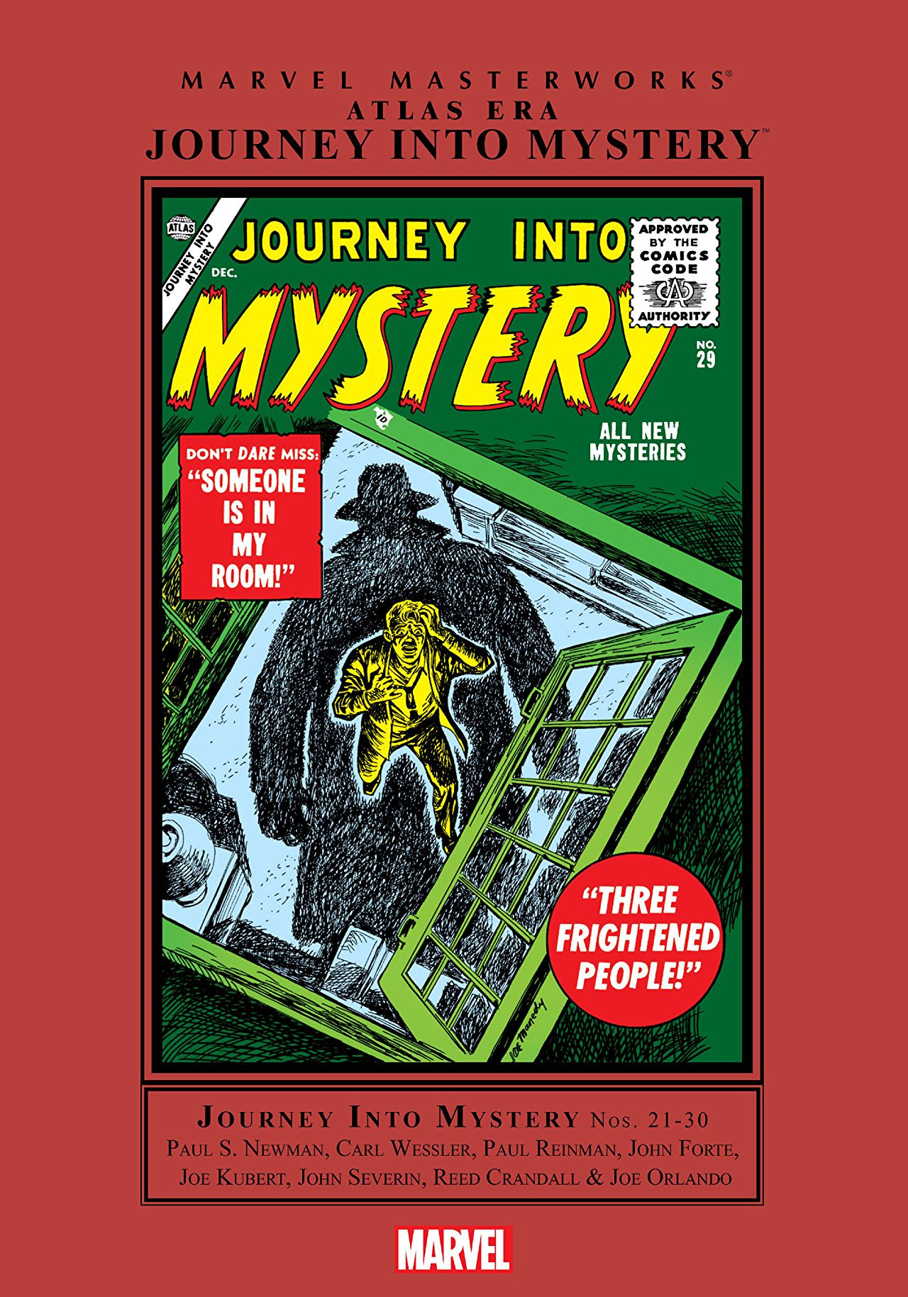 Marvel Masterworks: Atlas Era Journey into Mystery Vol 1 3