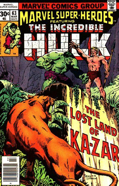 Marvel Super-Heroes Vol 1 63