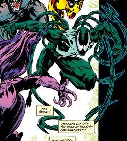 Ramon Hernandez (Lasher) (Earth-616) from Venom Separation Anxiety Vol 1 1 0001.jpg
