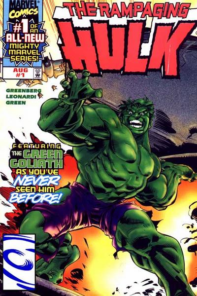 Rampaging Hulk Vol 2 1