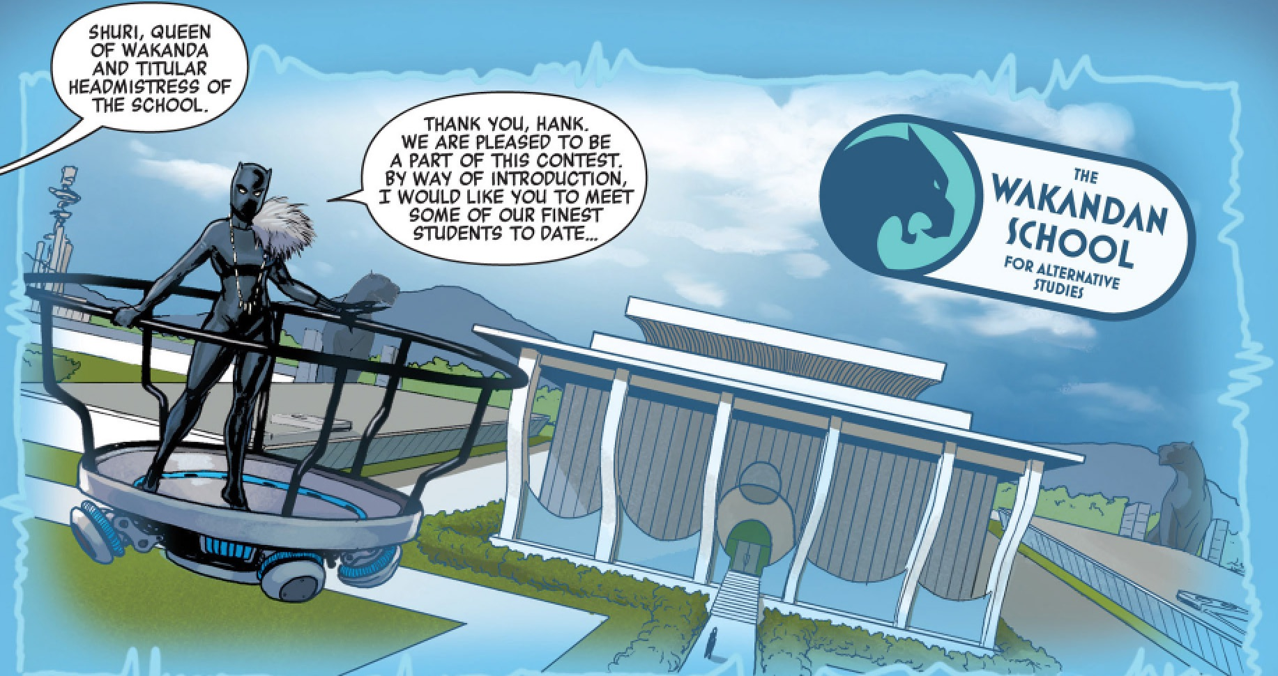 Wakandan School for Alternative Studies (Earth-616)/Gallery