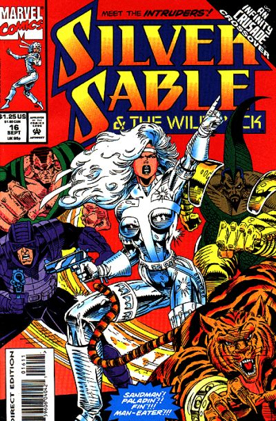 Silver Sable and the Wild Pack Vol 1 16