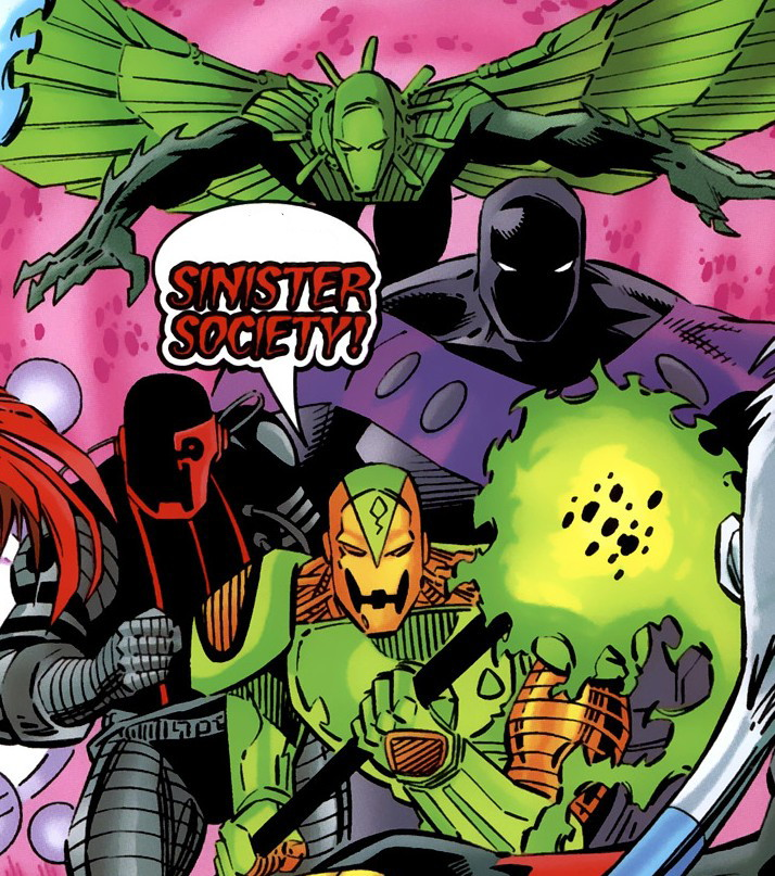 Sinister Society (Earth-9602)/Gallery