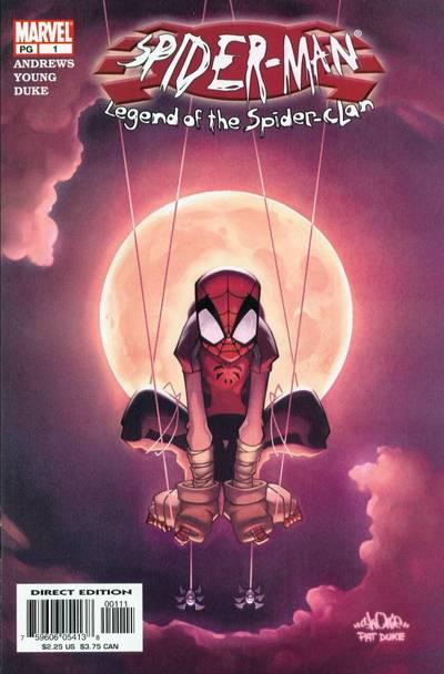 Spider-Man: Legend of the Spider-Clan Vol 1 1