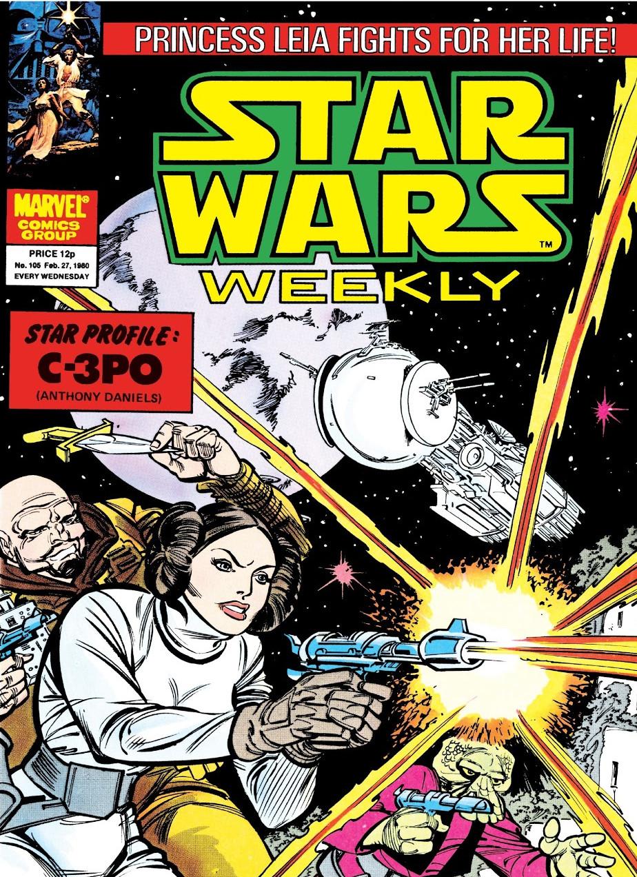 Star Wars Weekly (UK) Vol 1 105