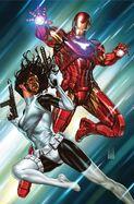 Tony Stark Iron Man Vol 1 15 Bring on the Bad Guys Variant Textless