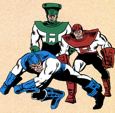Triumvirate of Terror (Earth-616)/Gallery