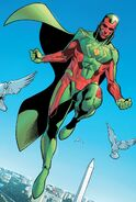 Vision (Earth-616) from Avengers No Road Home Vol 1 1 002