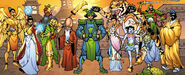 Xian from Thor & Hercules Encyclopaedia Mythologica Vol 1 1 0001