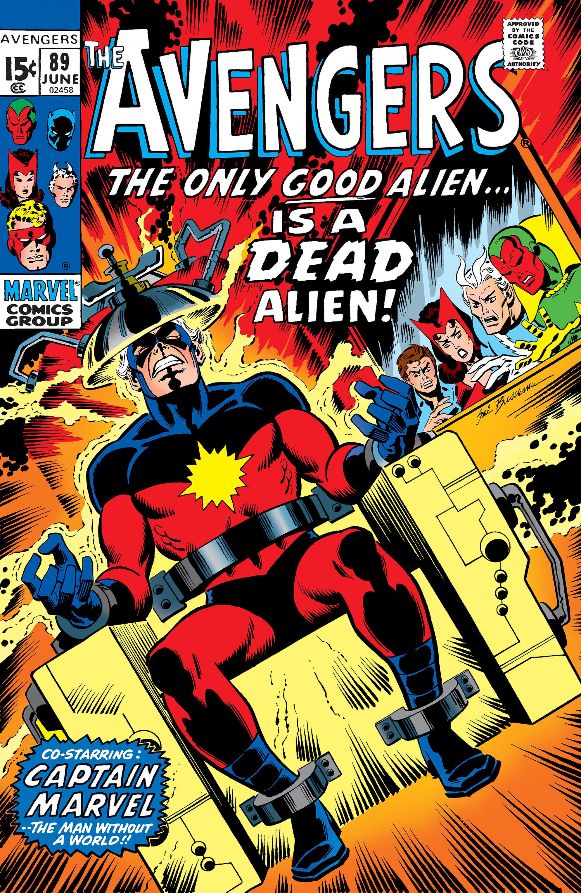 Avengers Vol 1 89