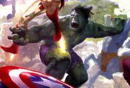 Bruce Banner (Earth-616) from Mythos Captain America Vol 1 1 001