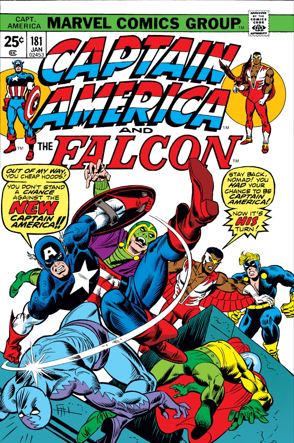 Captain America Vol 1 181