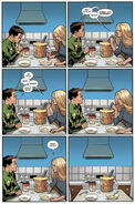 Layla Miller (Earth-616) and James Madrox (Earth-616) from X-Factor Vol 1 245 001