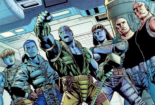 Lunatic Legion (Kree Survivors) (Earth-616)