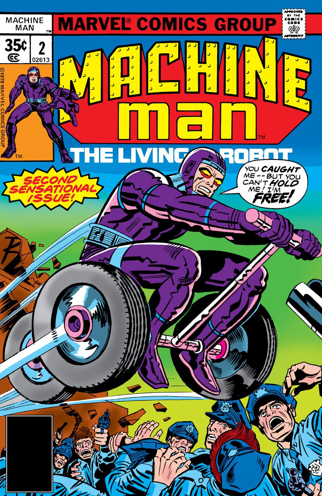 Machine Man Vol 1 2