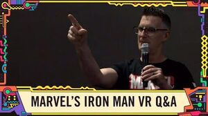 Marvel's Iron Man VR Q&A LIVE from SDCC 2019!