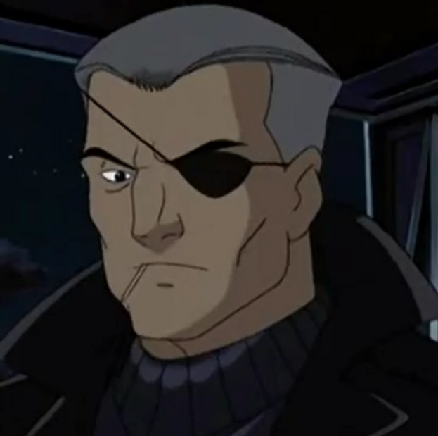 Nicholas Fury (Earth-11052) from X-Men Evolution Season 4 9.png