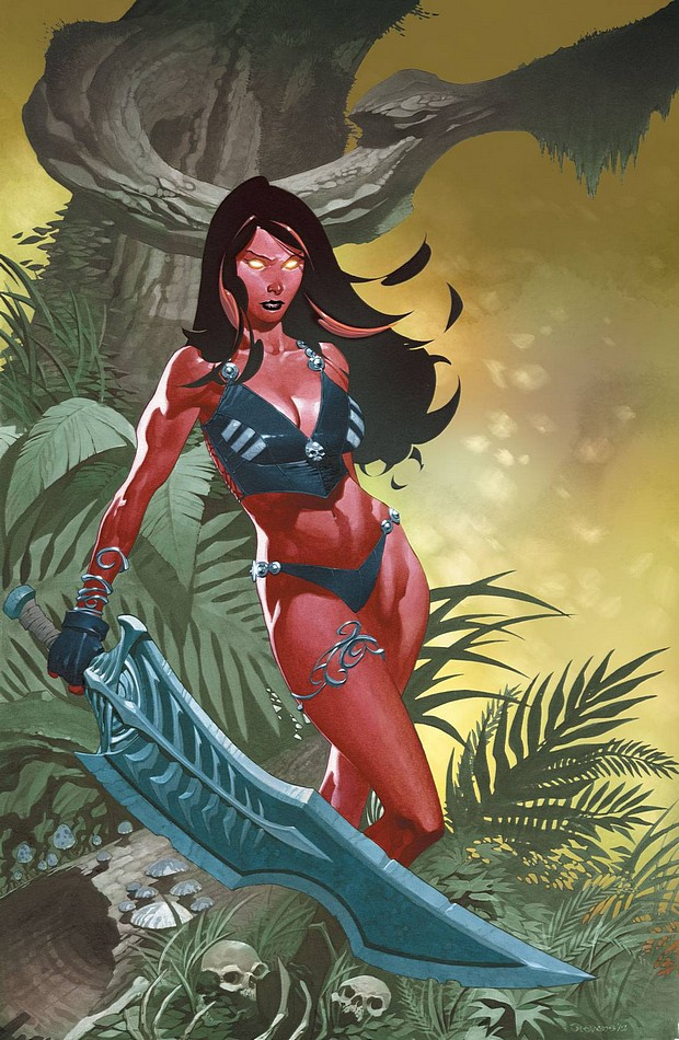 Red She-Hulk Vol 1 60 Stevens Variant Textless.jpg