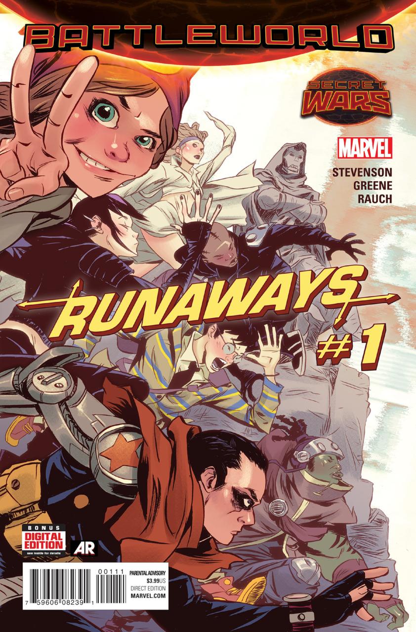 Runaways Vol 4 1