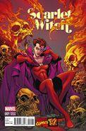 Scarlet Witch Vol 2 1 Marvel '92 Variant