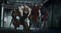 Team X (Earth-8096) from Hulk Vs (film) 0001.png