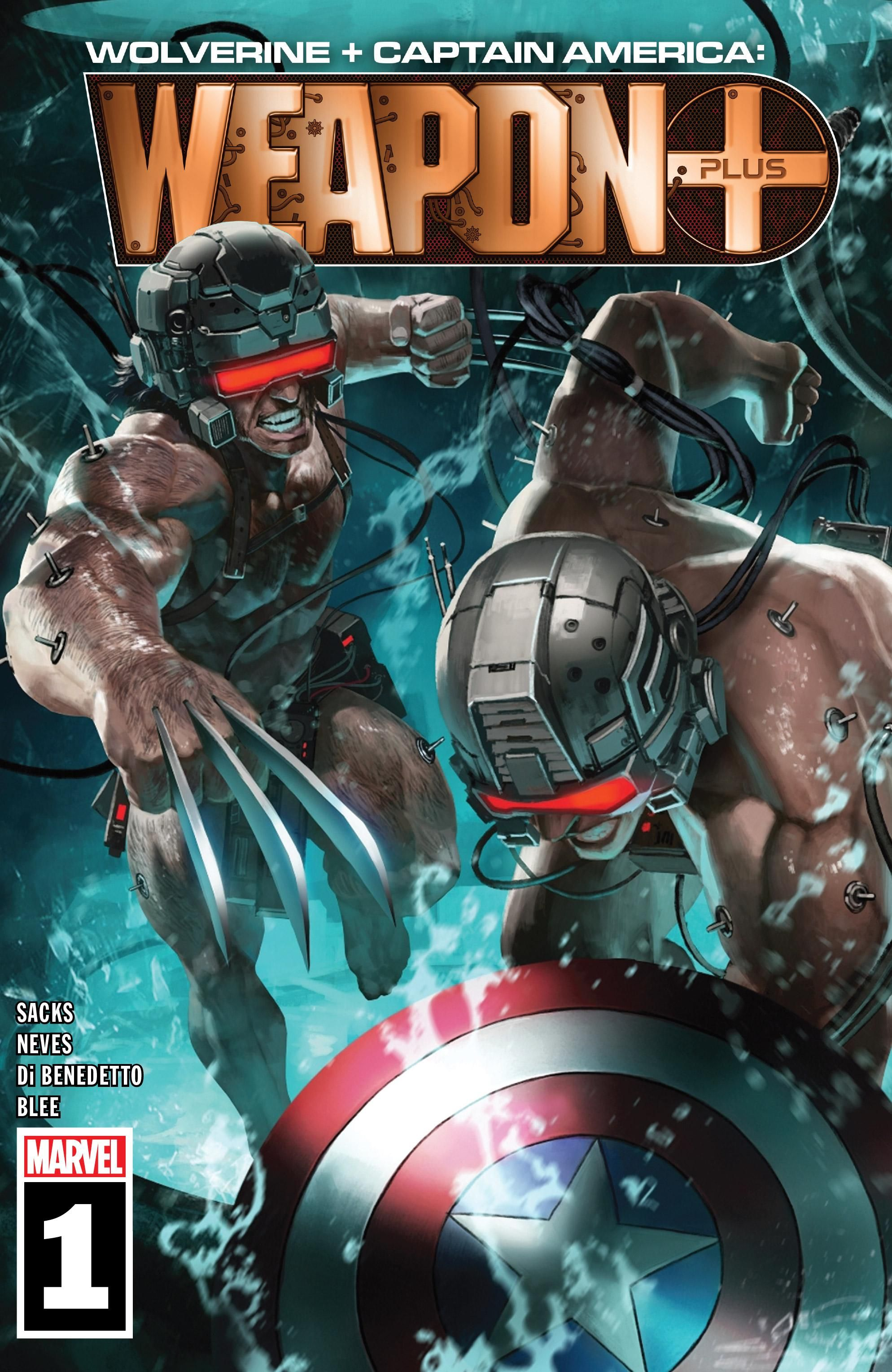 Wolverine & Captain America: Weapon Plus Vol 1 1
