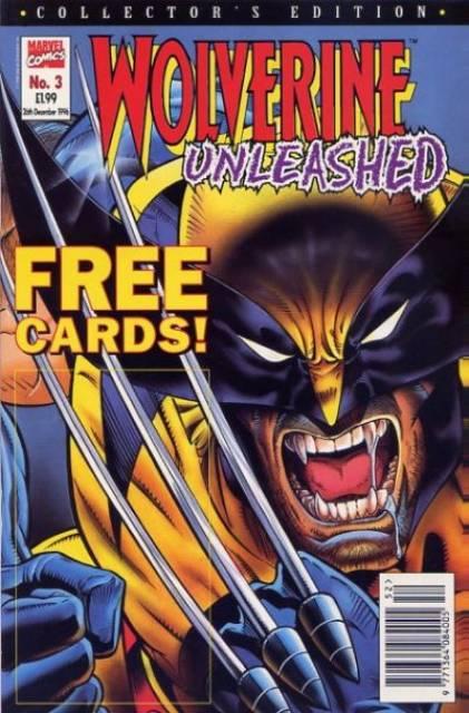 Wolverine Unleashed Vol 1 3