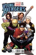 Young Avengers Vol 2 5 Cheung Variant