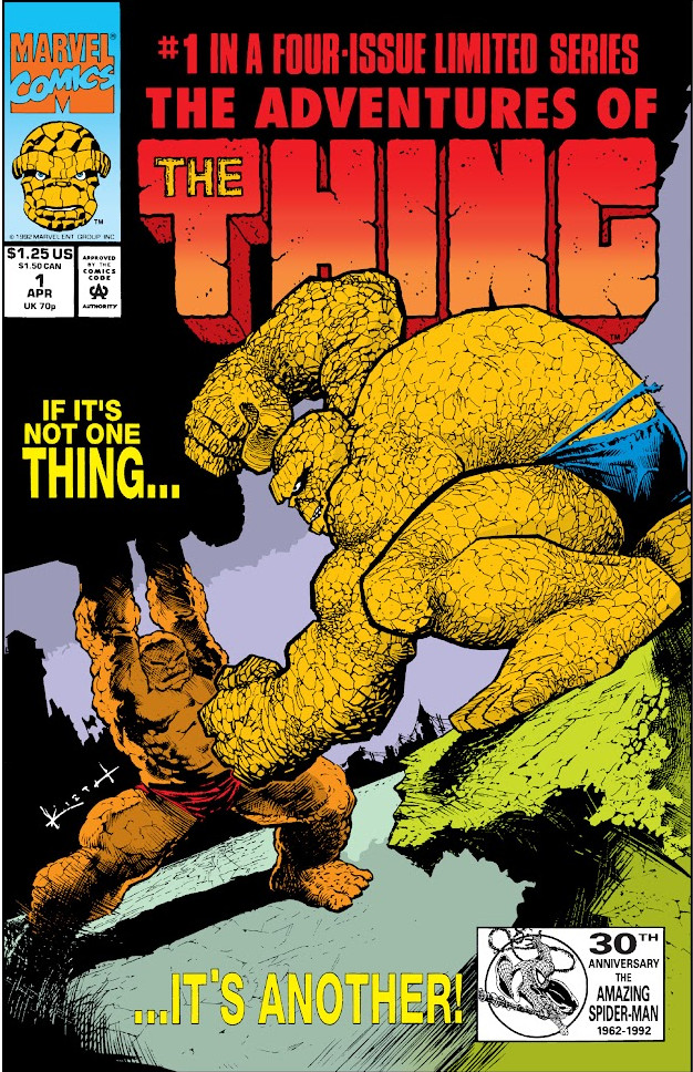Adventures of the Thing Vol 1
