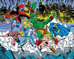 Anachronauts (Multiverse) from Avengers Annual Vol 1 22 001.jpg