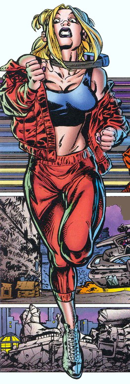 Annie Wagner (Earth-928)