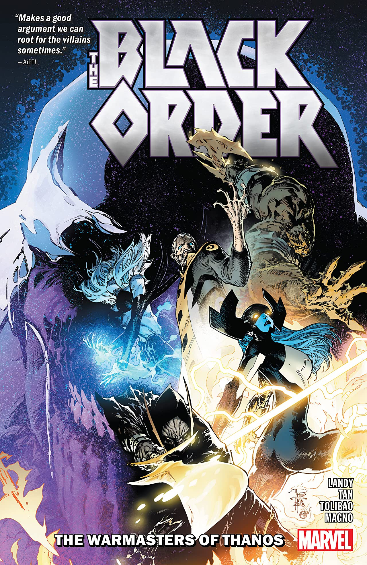 Black Order: The Warmasters of Thanos TPB Vol 1 1