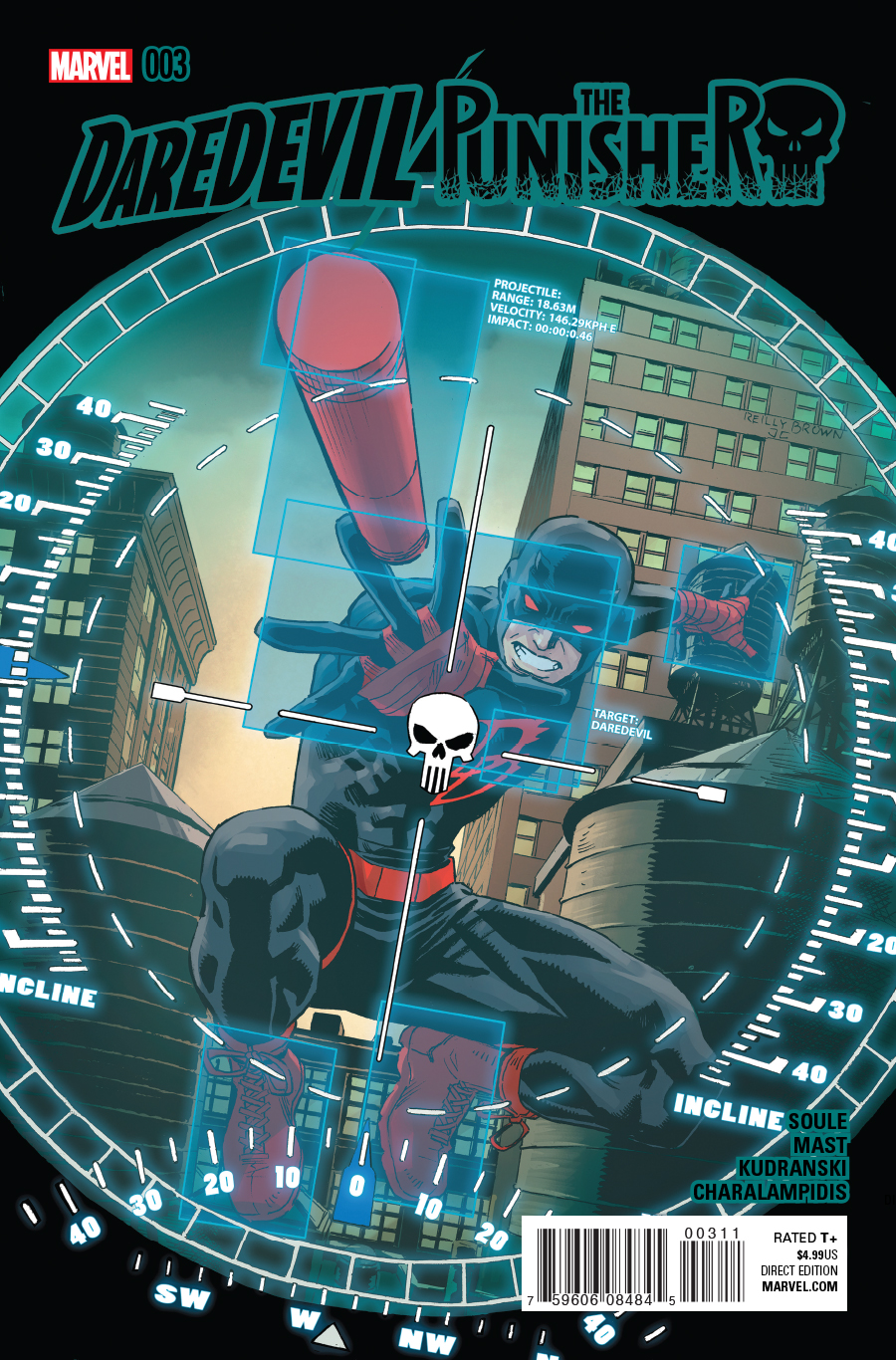 Daredevil/Punisher Vol 1 3