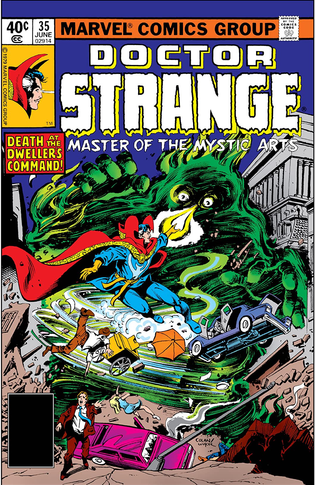 Doctor Strange Vol 2 35