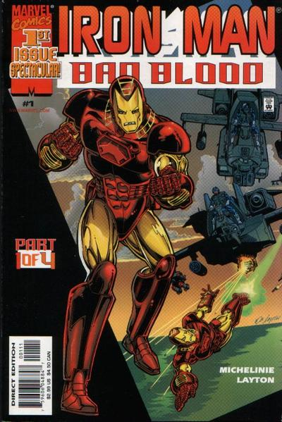 Iron Man: Bad Blood Vol 1 1