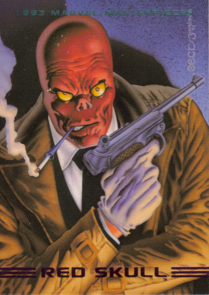 Johann Shmidt (Earth-616) from Marvel Masterpieces Trading Cards 1993 Set 0001.jpg