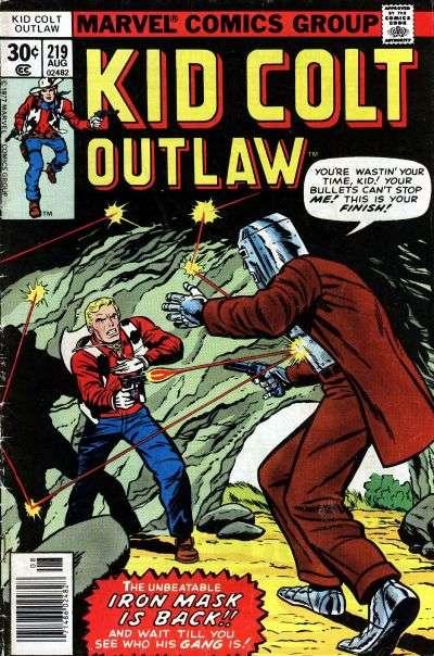 Kid Colt Outlaw Vol 1 219