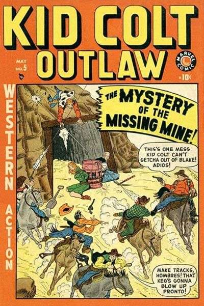 Kid Colt Outlaw Vol 1 5