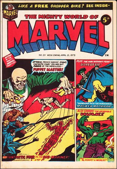 Mighty World of Marvel Vol 1 29