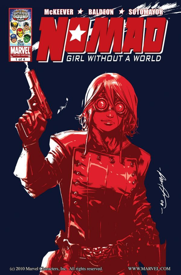 Nomad: Girl Without a World Vol 1 1