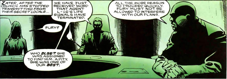 S.H.I.E.L.D. Executive Board (Earth-616)/Gallery