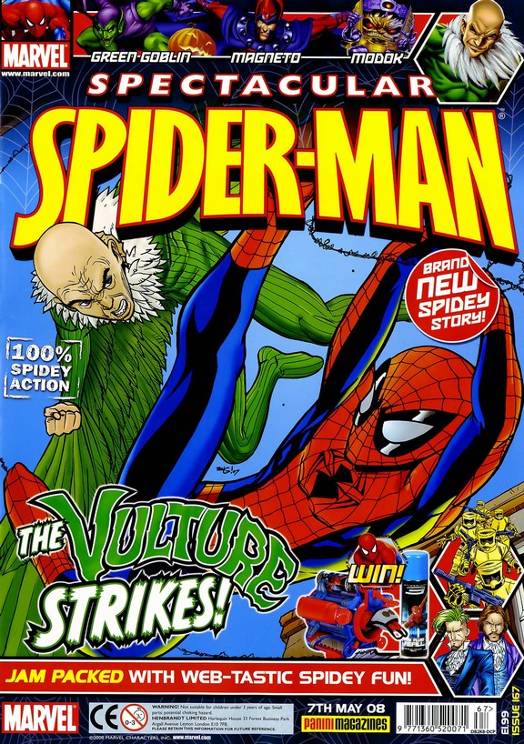 Spectacular Spider-Man (UK) Vol 1 167