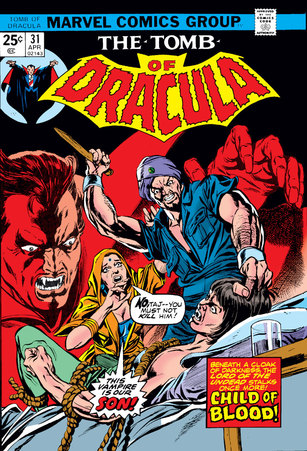 Tomb of Dracula Vol 1 31