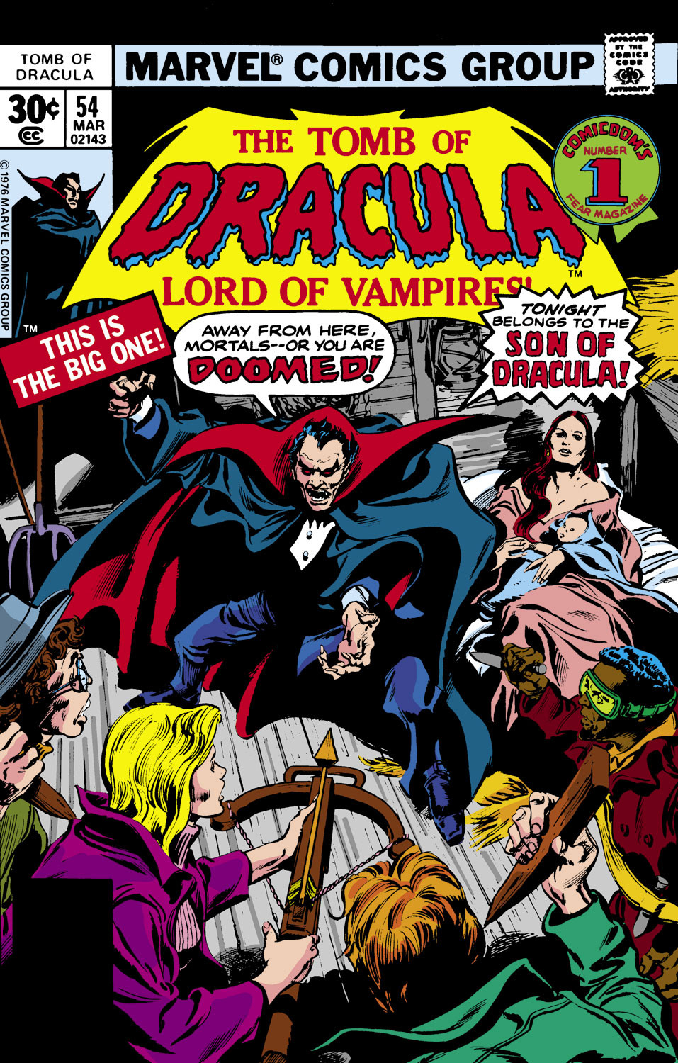 Tomb of Dracula Vol 1 54