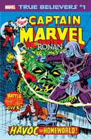 True Believers Captain Marvel vs. Ronan Vol 1 1