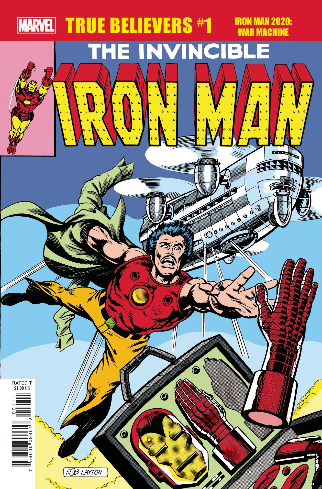 True Believers: Iron Man 2020 - War Machine Vol 1 1